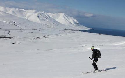 Islande – Ski de randonnée au printemps