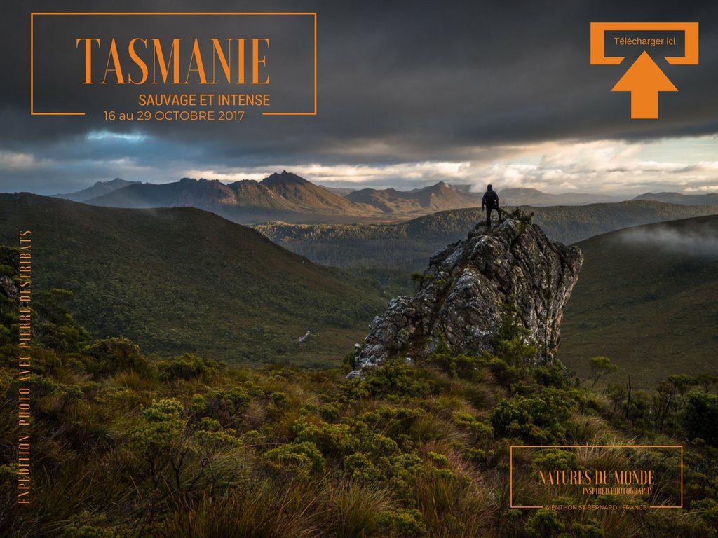 Voyage Photo Trek en Tasmanie  Octobre 2017
