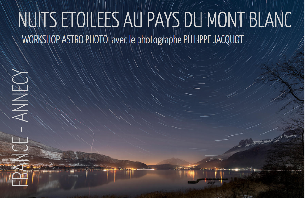 Annecy – Workshop Astro Photo
