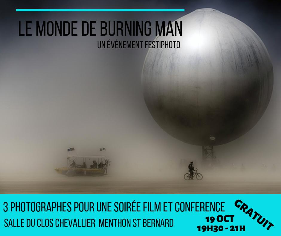 Soirée film et conférence «Le monde de Burning Man»